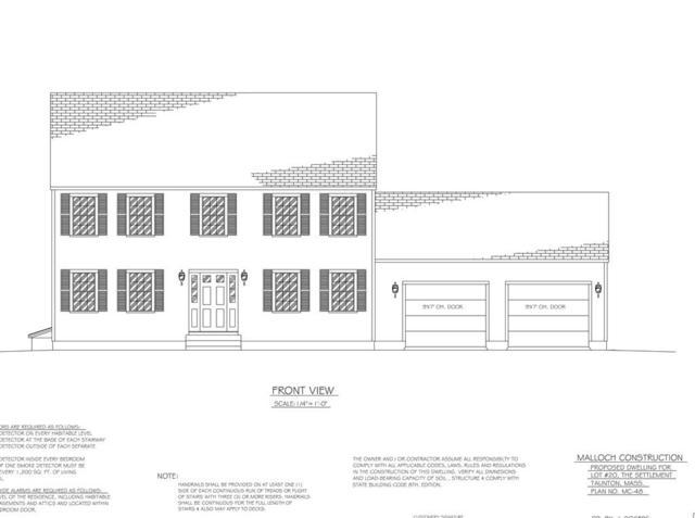 Lot 20 Appaloosa Way, Taunton, MA 02780 (MLS #72265489) :: Driggin Realty Group