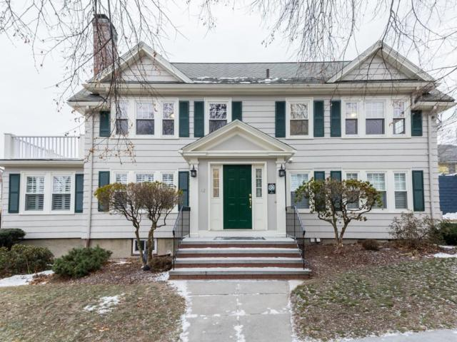 12 Flint Road #2, Watertown, MA 02472 (MLS #72271453) :: Vanguard Realty