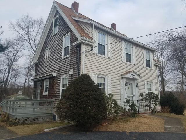 491 Plymouth St, Whitman, MA 02382 (MLS #72271944) :: Keller Williams Realty Showcase Properties