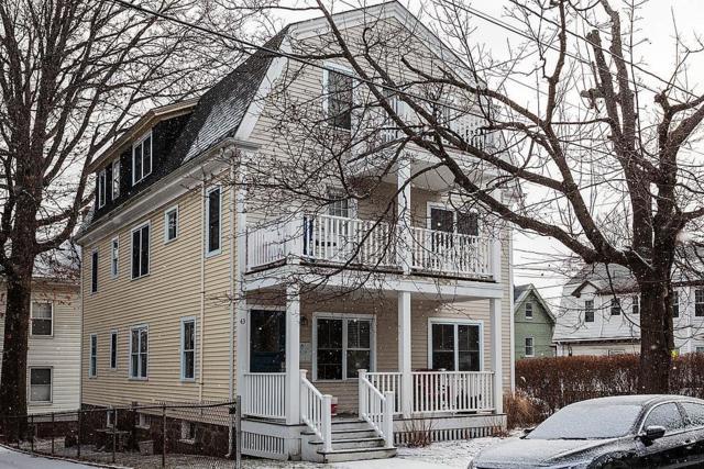 43 Hobson Street #1, Boston, MA 02135 (MLS #72279156) :: Goodrich Residential