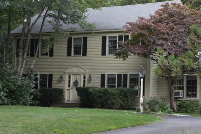 4 Arrowhead Lane, Milton, MA 02186 (MLS #72281518) :: Goodrich Residential