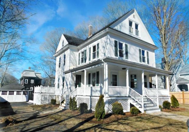12 Newton St, Mansfield, MA 02048 (MLS #72288055) :: ALANTE Real Estate