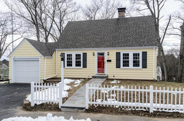21 Gayland Rd, Needham, MA 02492 (MLS #72292743) :: The Gillach Group
