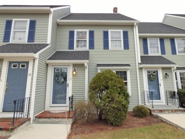 22 Daniel Dr #22, Easton, MA 02356 (MLS #72293145) :: Lauren Holleran & Team
