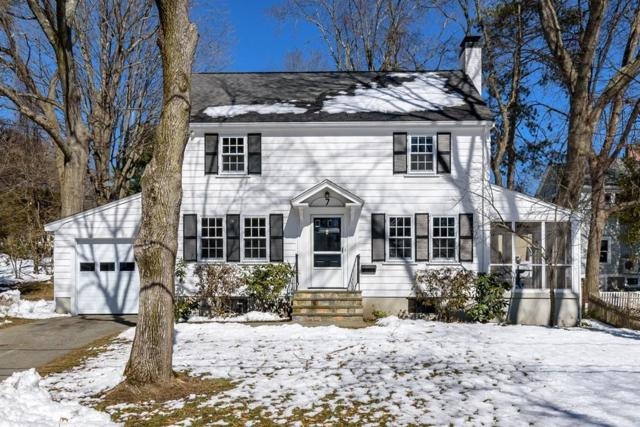 7 Alba Rd, Wellesley, MA 02481 (MLS #72295644) :: The Gillach Group