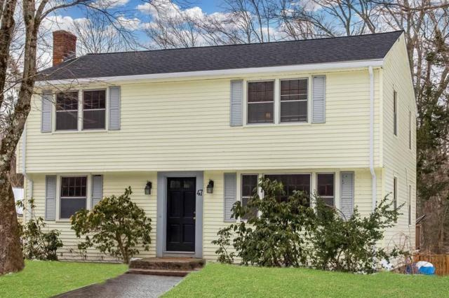 47 Spring Lane, Sharon, MA 02067 (MLS #72297336) :: ALANTE Real Estate