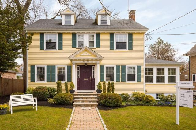 60 Fisher Avenue, Newton, MA 02461 (MLS #72312185) :: Commonwealth Standard Realty Co.