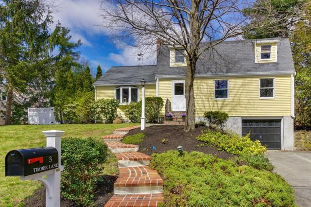 3 Timber Lane, Wayland, MA 01778 (MLS #72313558) :: Local Property Shop