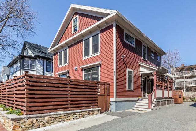 41-43 Dover Street, Cambridge, MA 02140 (MLS #72315063) :: ALANTE Real Estate