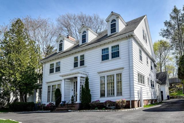418 Commonwealth Ave, Newton, MA 02459 (MLS #72319669) :: The Gillach Group