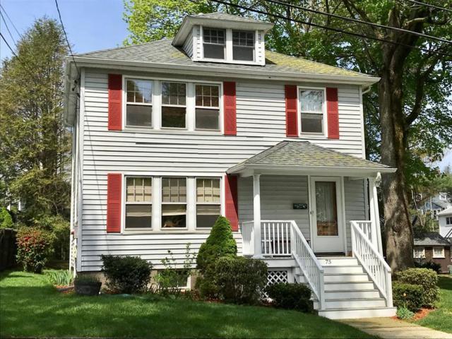 75 Fairmont Avenue, Waltham, MA 02453 (MLS #72329203) :: Vanguard Realty