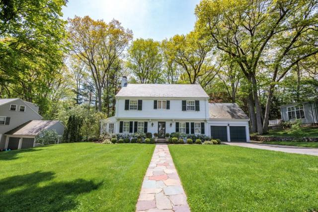 9 Thackeray Rd, Wellesley, MA 02481 (MLS #72330324) :: The Gillach Group