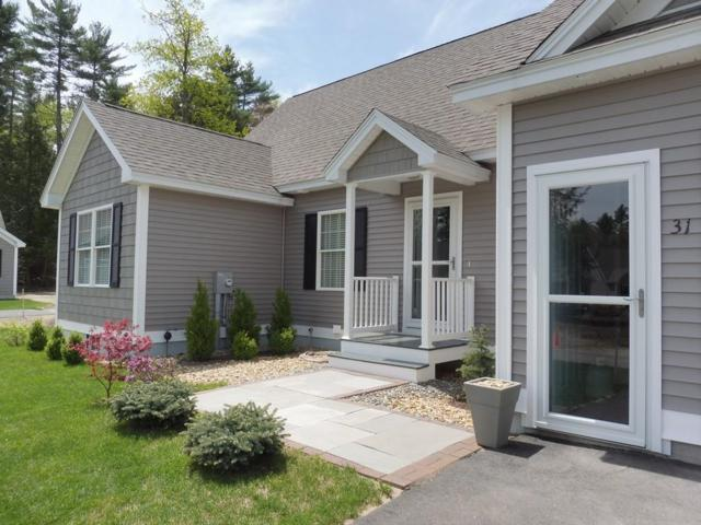 31 Howes Ct #31, Ashburnham, MA 01430 (MLS #72330848) :: ALANTE Real Estate