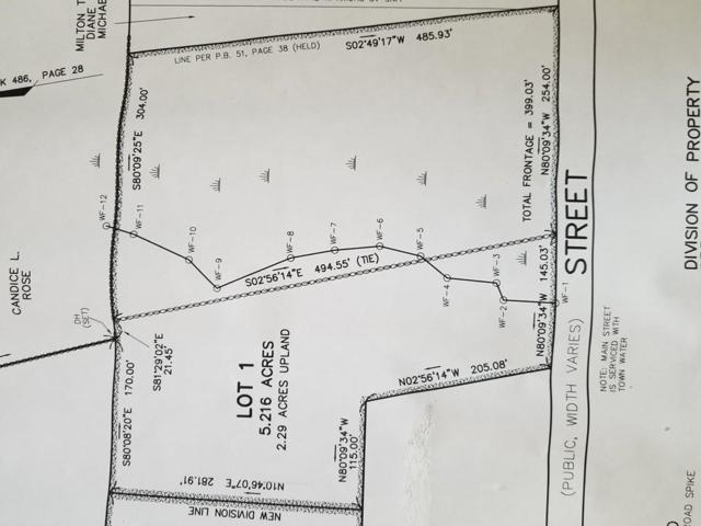 Lot 1 Main St, Dighton, MA 02715 (MLS #72334041) :: Anytime Realty