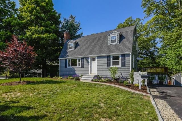 184 Vincent Road, Dedham, MA 02026 (MLS #72336173) :: Goodrich Residential