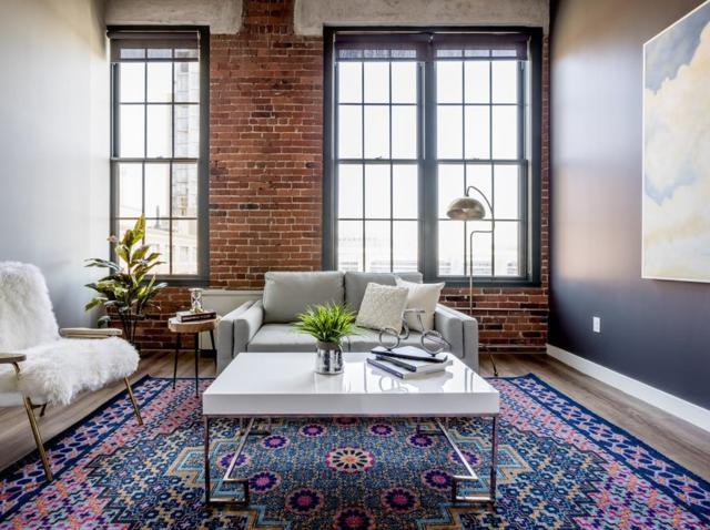 63 Melcher #205, Boston, MA 02110 (MLS #72336941) :: Goodrich Residential