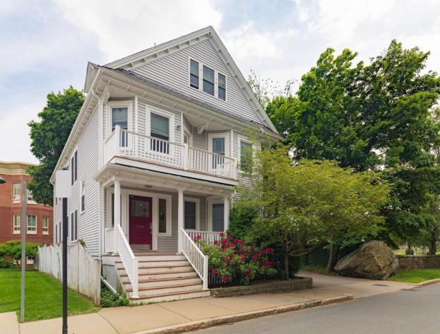 566 Heath St #2, Brookline, MA 02467 (MLS #72345733) :: Hergenrother Realty Group