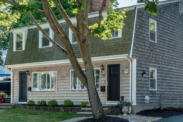 20 Walnut Street #20, Marblehead, MA 01945 (MLS #72359581) :: ALANTE Real Estate