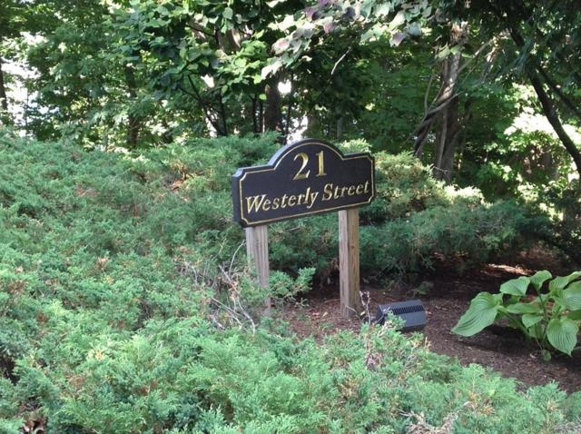 21 Westerly #11, Wellesley, MA 02482 (MLS #72360437) :: The Gillach Group