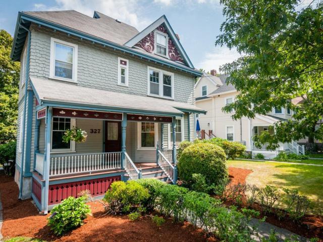 327 Tremont Street, Newton, MA 02458 (MLS #72365532) :: Westcott Properties