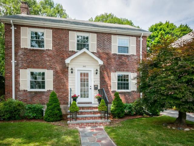 340 Russett Road, Brookline, MA 02467 (MLS #72365533) :: The Muncey Group
