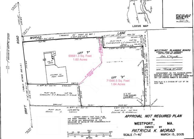 1340 Drift Road Lot 2, Westport, MA 02790 (MLS #72378766) :: Mission Realty Advisors