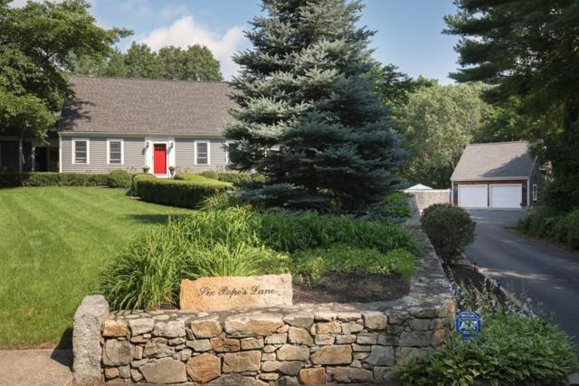 6 Popes Lane, Hingham, MA 02043 (MLS #72379657) :: Apple Country Team of Keller Williams Realty