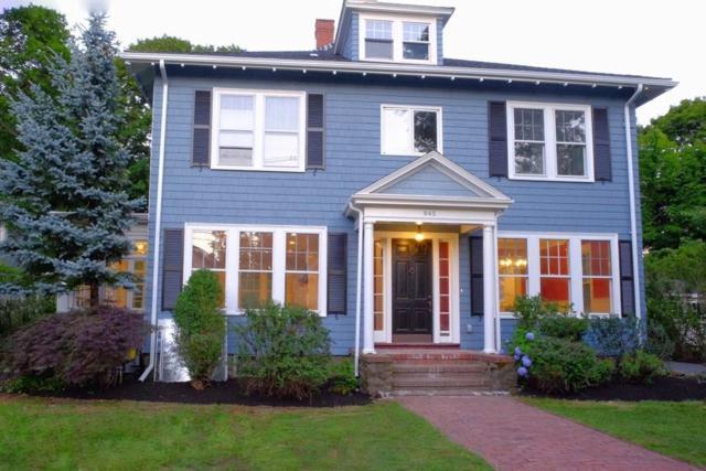 945 Humphrey St, Swampscott, MA 01907 (MLS #72379810) :: Westcott Properties