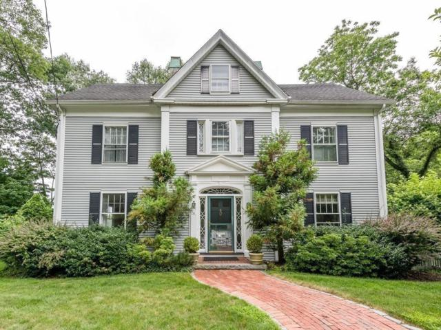 131 Bishopsgate Road, Newton, MA 02459 (MLS #72382615) :: Vanguard Realty