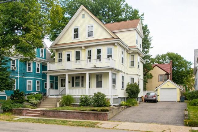 15 Everett St. #2, Arlington, MA 02474 (MLS #72388760) :: ALANTE Real Estate