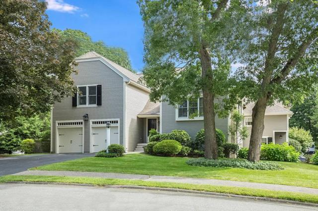 17 Oak St #17, Wellesley, MA 02482 (MLS #72393854) :: The Gillach Group