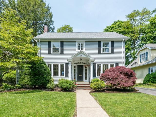 31 Hinckley Rd, Newton, MA 02468 (MLS #72394360) :: Hergenrother Realty Group