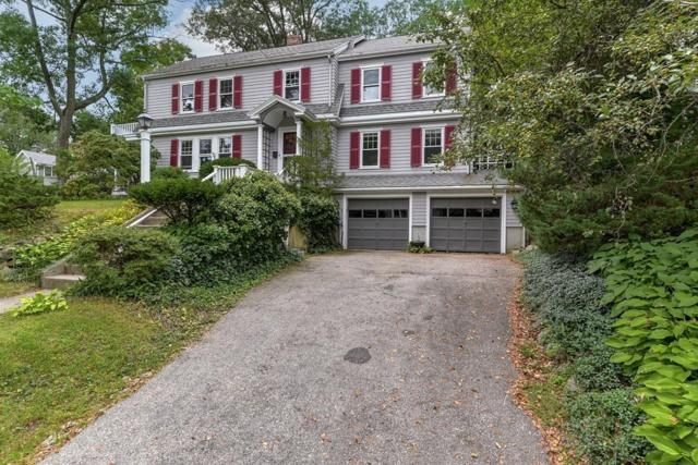 381 Warren Street, Needham, MA 02492 (MLS #72396998) :: The Gillach Group
