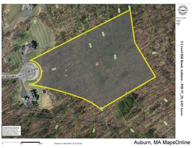 5 Crowl Hill Rd, Auburn, MA 01501 (MLS #72398622) :: Compass Massachusetts LLC