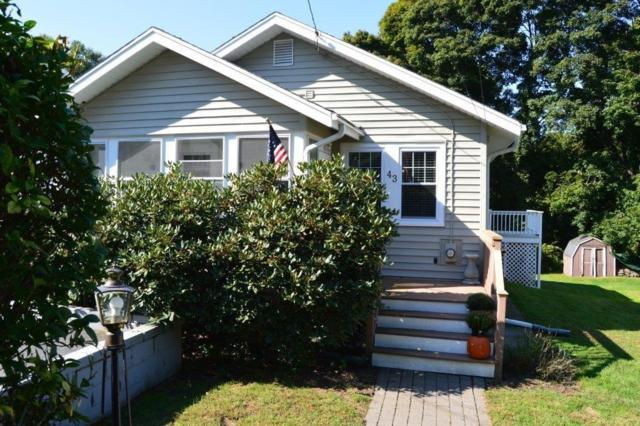 43 Harding, Weymouth, MA 02188 (MLS #72404492) :: Vanguard Realty