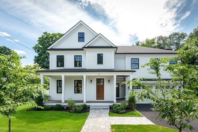 291 Woodland  Road, Newton, MA 02466 (MLS #72406560) :: ALANTE Real Estate