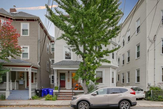 74 Chestnut St #1, Brookline, MA 02445 (MLS #72407916) :: Vanguard Realty