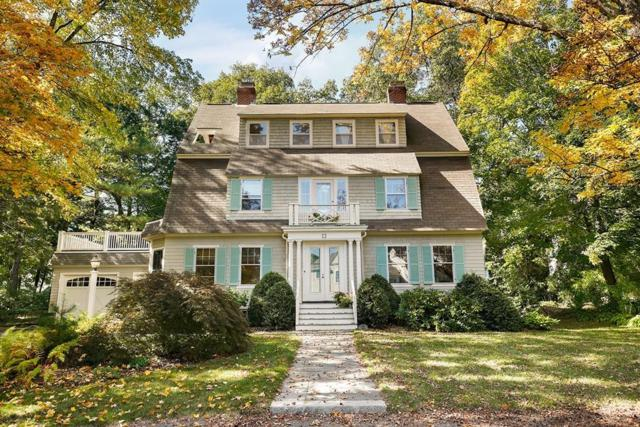 22 Cushing Rd, Wellesley, MA 02481 (MLS #72411812) :: Commonwealth Standard Realty Co.