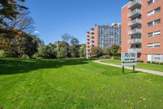 80 Park St #25, Brookline, MA 02446 (MLS #72414492) :: Vanguard Realty