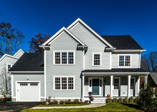 166 Warren Street, Needham, MA 02492 (MLS #72422243) :: The Gillach Group