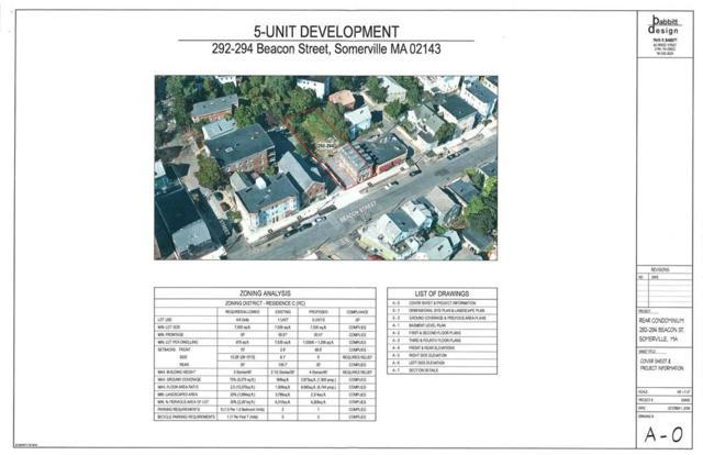 294 Beacon Street, Somerville, MA 02143 (MLS #72423523) :: Goodrich Residential