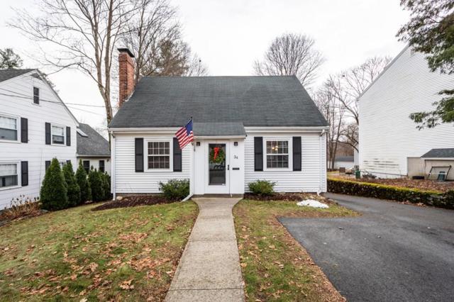 34 Willow Street, Reading, MA 01867 (MLS #72427708) :: COSMOPOLITAN Real Estate Inc