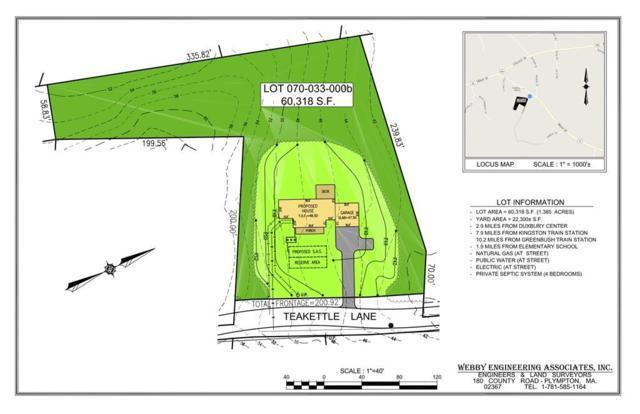 Lot A Teakettle Lane, Duxbury, MA 02331 (MLS #72428504) :: Keller Williams Realty Showcase Properties