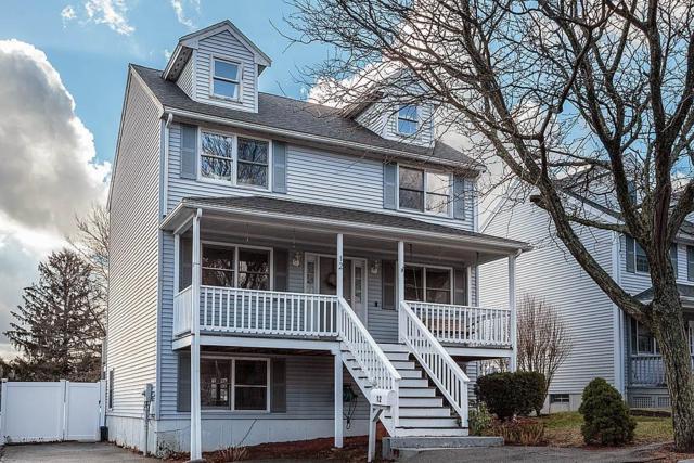12 Forest Ct, Malden, MA 02148 (MLS #72429620) :: COSMOPOLITAN Real Estate Inc