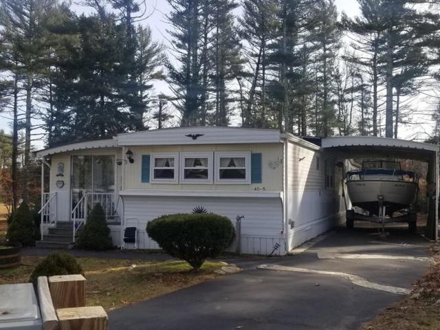 40-5 Village Way #5, Carver, MA 02330 (MLS #72437556) :: Westcott Properties