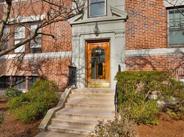 403 Washington St #5, Brookline, MA 02446 (MLS #72441406) :: Vanguard Realty