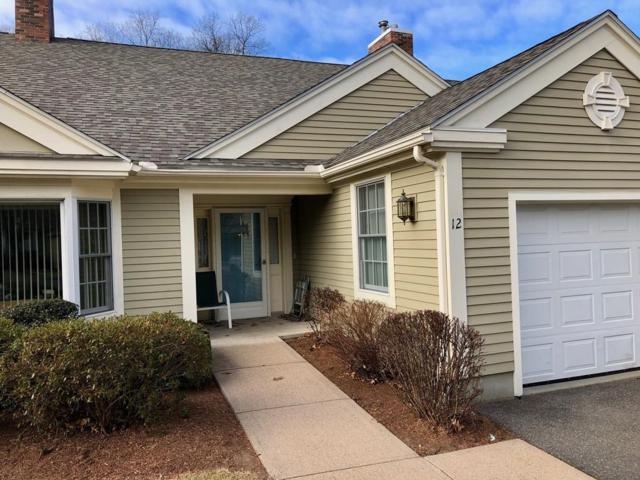 12 Burns Meadow #12, Longmeadow, MA 01106 (MLS #72442061) :: NRG Real Estate Services, Inc.