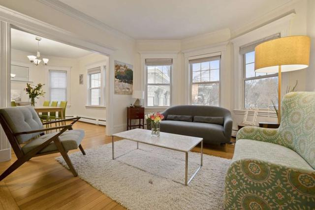 138 Middlesex Rd #3, Newton, MA 02467 (MLS #72453318) :: The Gillach Group