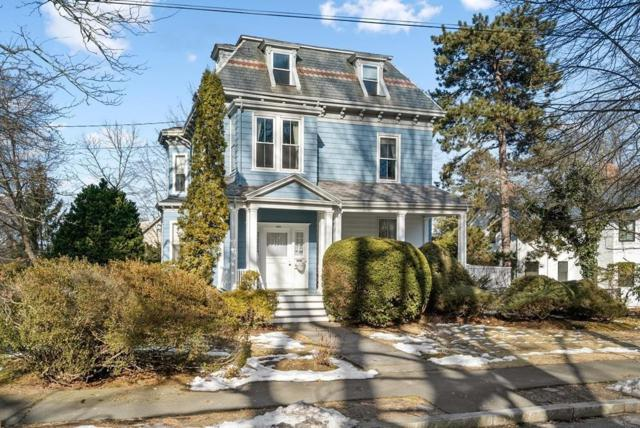 185 Highland Avenue, Newton, MA 02465 (MLS #72453948) :: The Muncey Group