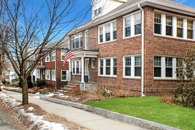57 Lawton Street #1, Brookline, MA 02446 (MLS #72460227) :: Westcott Properties